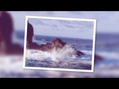 The Atlantic Ocean swell attacking the shore of La Palma