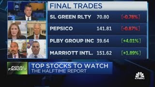 Final Trades: Pepsi, SL Green, Marriott \u0026 more