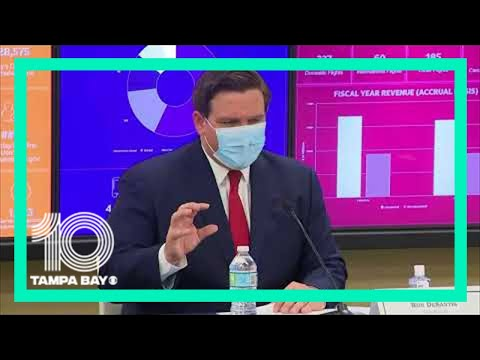 Gov. DeSantis holds COVID-19 roundtable discussion with Miami-Dade County Mayors