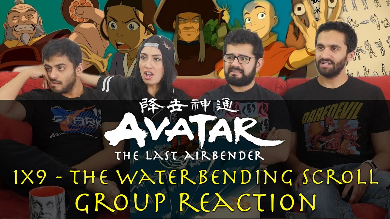 Avatar The Last Airbender 1x9 The Waterbending Scroll Group Reaction
