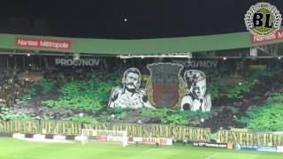 FCN - Stade Rennais (22/10//16) - Tifo