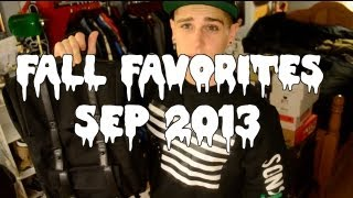 Fall Favorites! - September 2013
