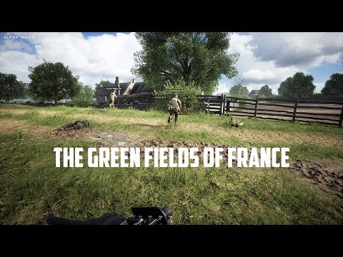 Hell Let Loose - Closed Alpha Gameplay - American - The Green Fields of France!