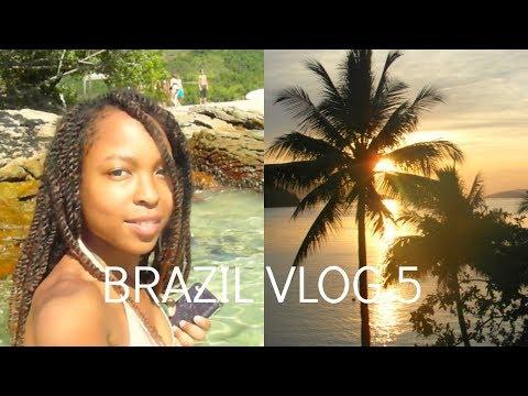 Brazil Travel Vlog 5 | IVHQ | Solo Travel | Island hopping | Angra dos Reis | Air BnB