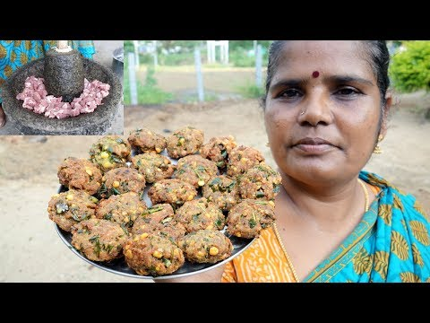 Traditional Mutton Vada Recipe | Prepared By My Mummy | VILLAGE FOOD