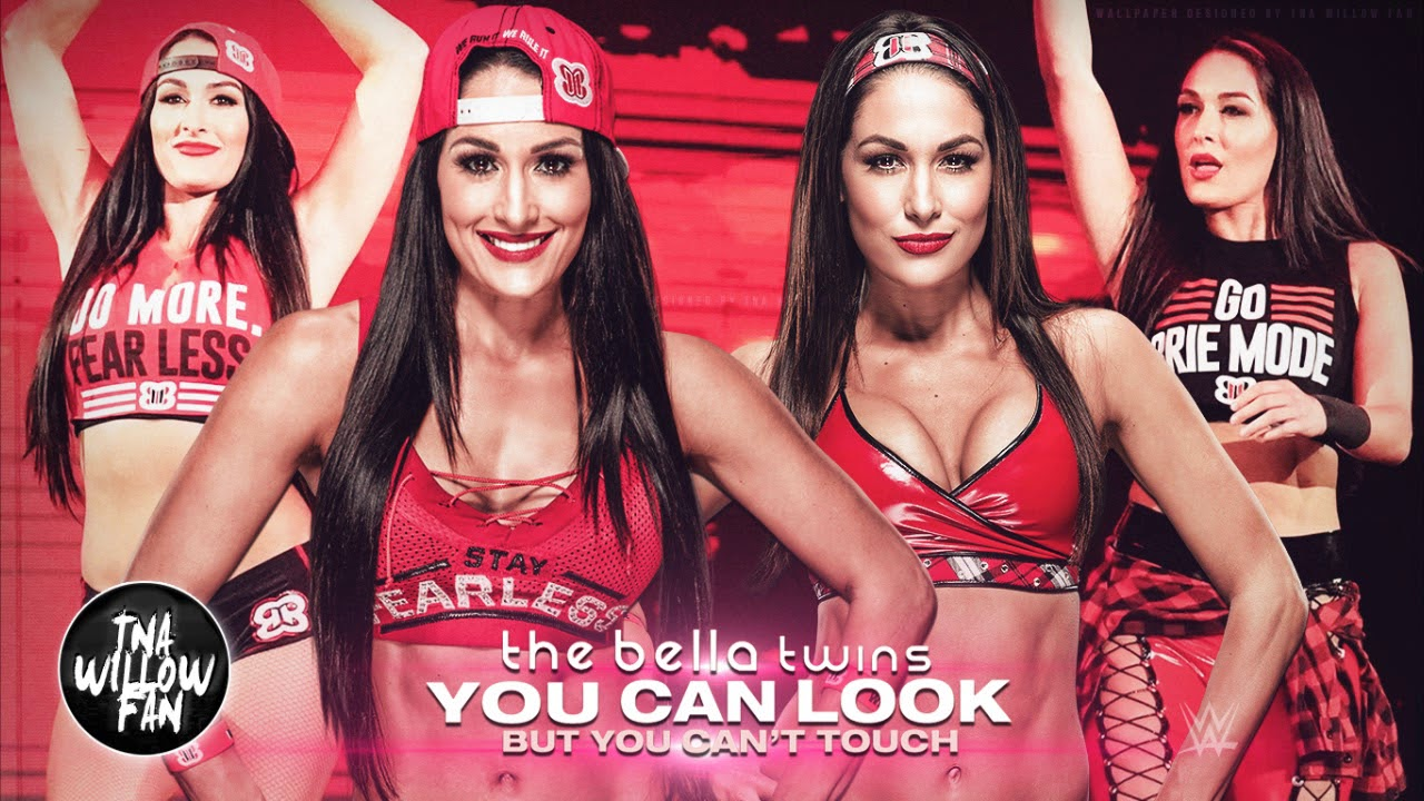 The Bella Twins - You Can Look (But You Can't Touch) Lyrics