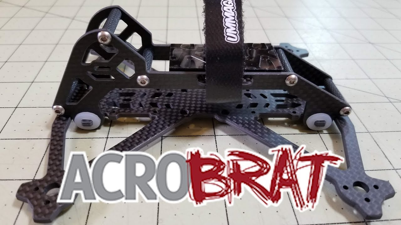 The Acrobrat By Ummagawd 3 Inch Frame Review Youtube