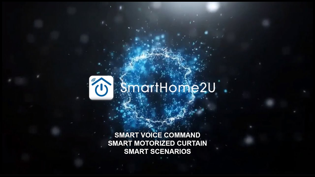 SmartHome2U - Smart Home System for Your Comfortable Lifestyle with Smart Voice Control Amazon Alexa