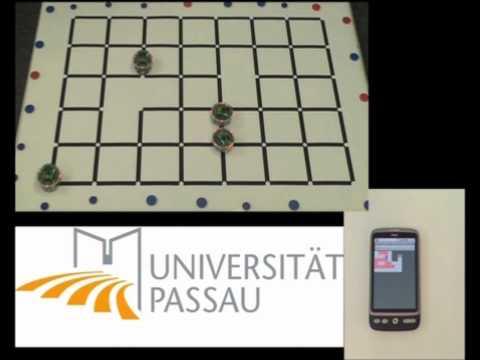 ePuck conquest with 4 agents - robotic - uni passau