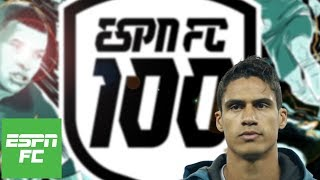 Best center-backs of 2018: Was Raphael Varane snubbed?   ESPN FC 100