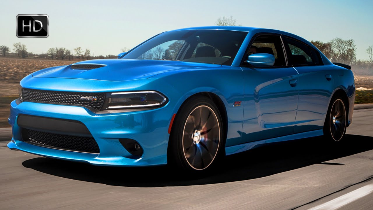 2015 Dodge Charger R/T Scat Pack with 6.4L HEMI V8 Engine HD - YouTube
