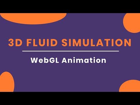 Awesome 3D Canvas Fluid Simulation Effect | Web Design Inspiration