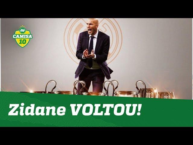 ELE VOLTOU! Zidane vai REFORMULAR o Real Madrid! Veja ANÁLISE!