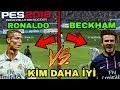 RONALDO vs BECKHAM !! KİM DAHA İYİ - PES 2018 HD