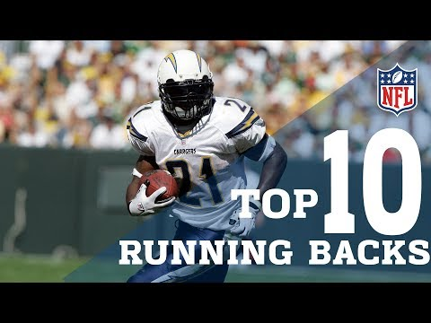 Top 10 Running Backs Of All Time!   NFL Highlights