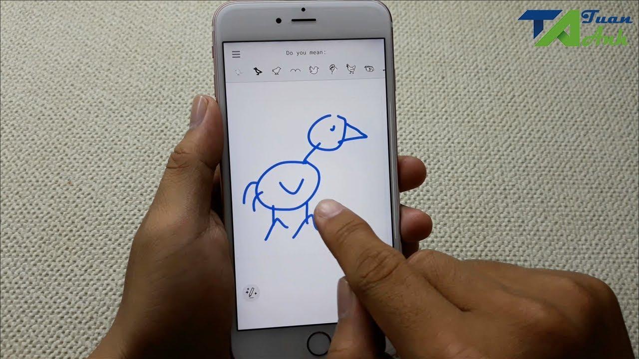 Vẽ xấu đến mấy cũng thành họa sĩ với ứng dụng này