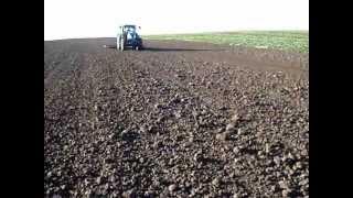 Bronowanie pola Brony hydraulicznie składane Almet Dzierzgoń Kuźmicz Żuławka Sztumska 99 a część II