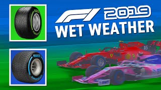 5 EASY TIPS for driving FAST in WET WEATHER on F1 2019🌧!!