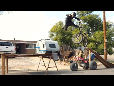 Bike Stuntman Smashes