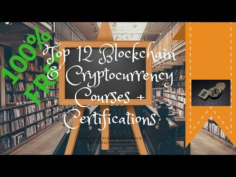 Top 12 Blockchain & Cryptocurrency Courses + Certifications