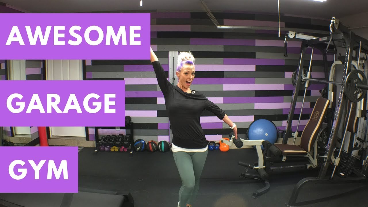 My awesome garage home gym remodel youtube