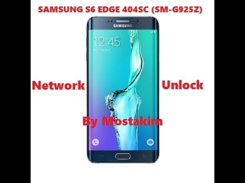 Samsung S6 EDGE 404SC (SM-G925Z) Network Unlock File 100% Free Download  Just Solution