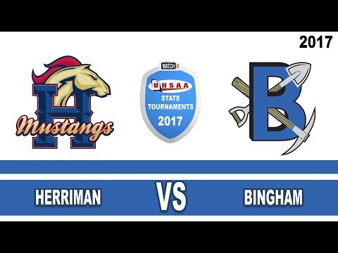 6A Football Herriman vs Bingham High School UHSAA 2017 State Tournament Semifinals