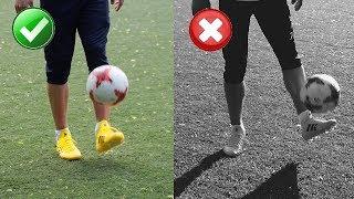 Как набивать мяч 1000 РАЗ? Обучение чеканки