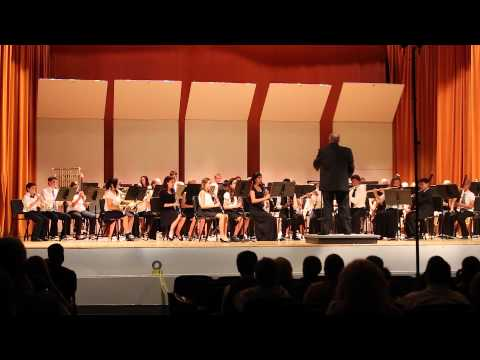 Anacapa Middle School Spring Band Concert 2015