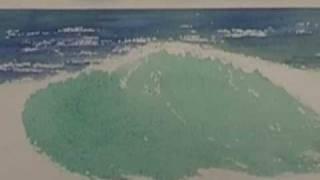 Watercolor Ocean - Crashing Waves (Part 1)
