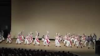 2018年8月12日高知よさこい祭り全国大会オレンジホールお披露目演舞...