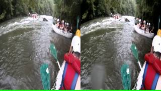 "3D Ocoee River Whitewater Rafting 21 ""Chilling On The River"""