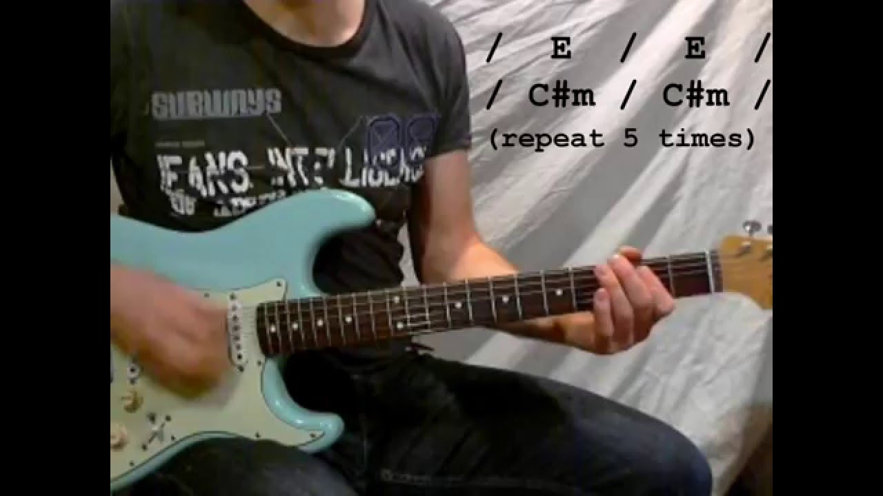 Seether Save Today Easy Guitar W Chords Youtube
