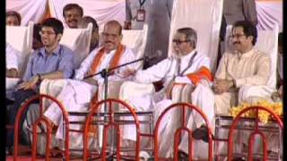 Balasaheb Thackeray Speech : Dasara Melava 2010 - Part 1