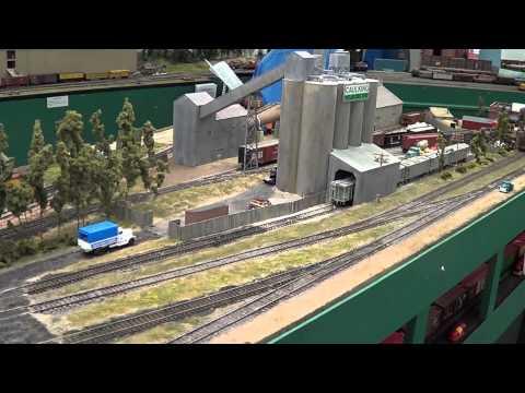 Green Bay Route- HO Mdoel Railroad, Texas