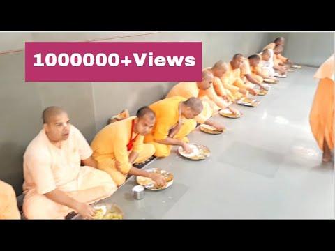 ISKCON JUHU Brahmacharya Prasadam || TEMPLE MUMBAI || HARE KRISHNA