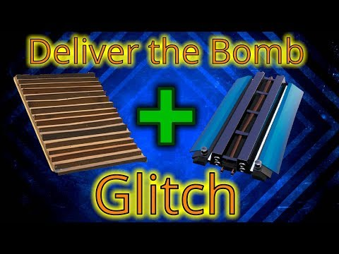 Tracks On Stairs - Deliver The Bomb Glitch/Trick - Fortnite Save The World
