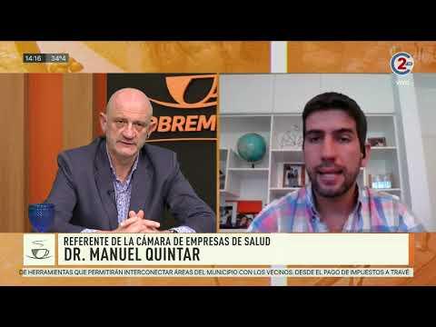 Sobremesa 25-09-20| Dr. Manuel Quintar - Referente de la Cámara de Empresas de Salud