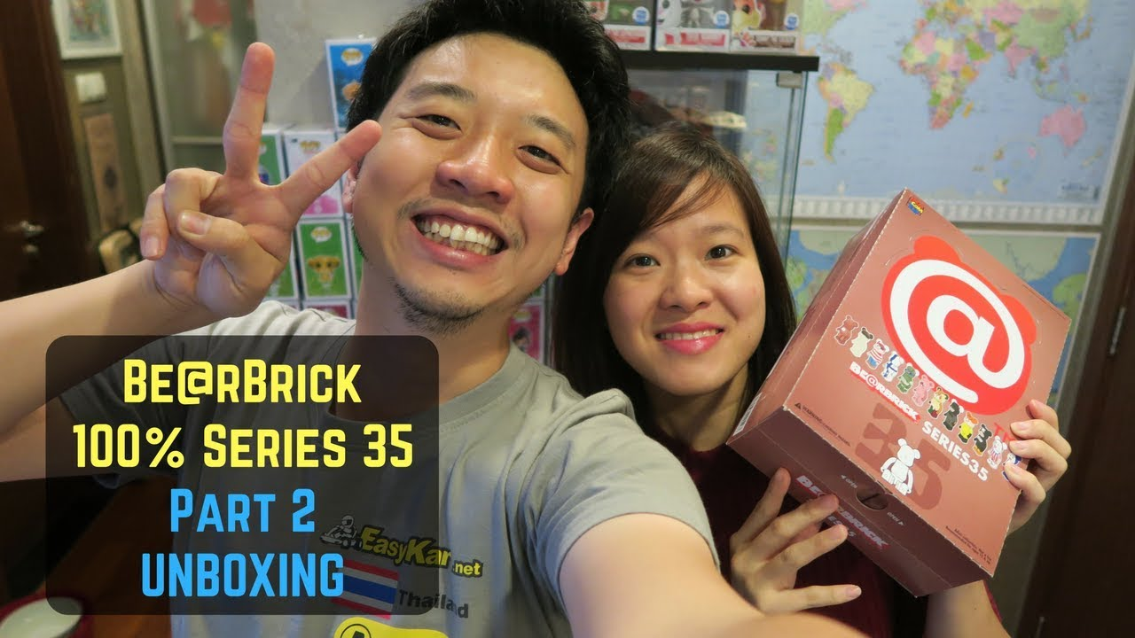 a868dd4e BearBrick Series 35 Unboxing: How many duplicates?! Part 2 - YouTube