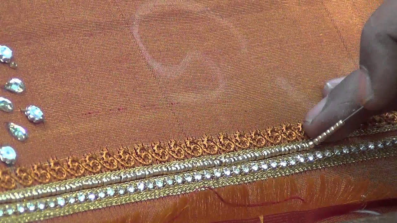 Indian bead embroidery youtube indian bead embroidery bankloansurffo Images