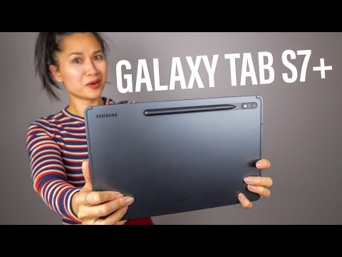 Samsung Galaxy Tab S7 Plus: A Multitasking Monster!