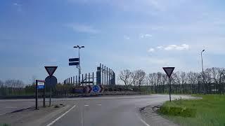 Wegvideo Nieuwegein-Houten. Industrie Terrein De Wiers-Industrieterrein Het Rondeel.