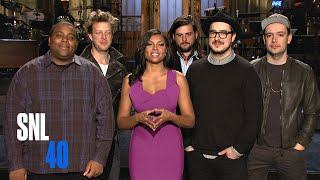 SNL Host Taraji P. Henson Promises the Empire To Mumford & Sons
