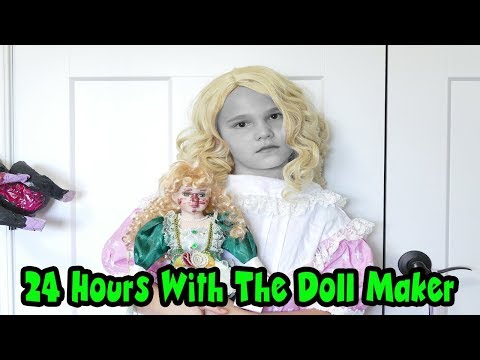 24 Hours In My Room With The DOLL MAKER! The Doll Maker Games! 24 Hours With The Doll Maker