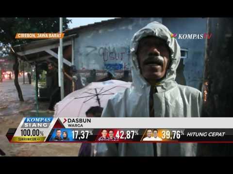 Banjir Bandang Terjang Kabupaten Cirebon