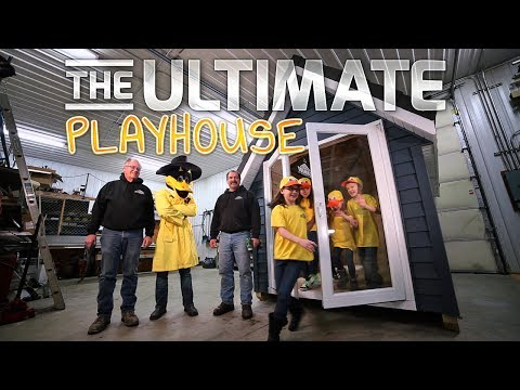 Win The Ultimate Playhouse from Schmidt Siding & Windows