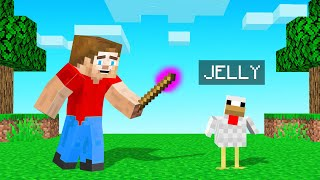 I Turned MY BEST FRIEND Into A CHICKEN! (Minecraft)