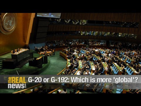 G-20 or G-192: Which is more 'global'?