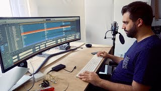 ULTRA-WIDE MONITOR - for Logic Pro X and all other DAWs
