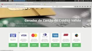 Como verificar se um cartão de credito e Valido ou Invalido